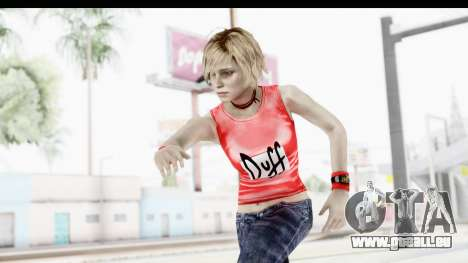 Silent Hill 3 - Heather Sporty Red Duff Beer pour GTA San Andreas