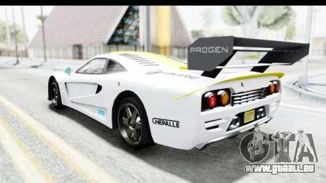 GTA 5 Progen Tyrus für GTA San Andreas Motor