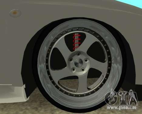 Subaru Impreza Armenian für GTA San Andreas Rückansicht