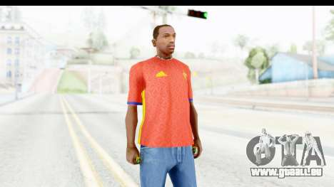 Spain Home Kit 2016 pour GTA San Andreas