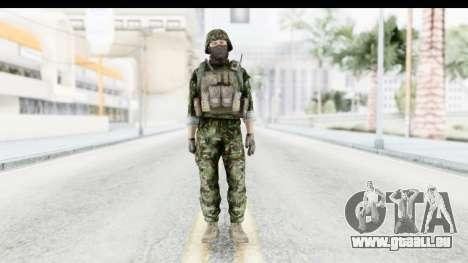 Global Warfare Balkan pour GTA San Andreas deuxième écran