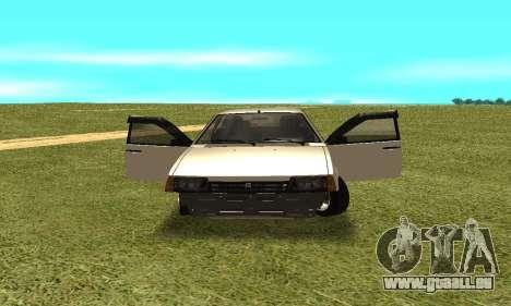 2109 pour GTA San Andreas vue arrière