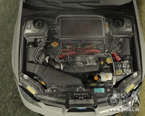 Subaru Impreza Armenian für GTA San Andreas obere Ansicht