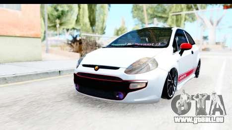 Fiat Punto Abarth für GTA San Andreas