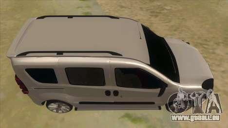 Fiat Doblo 2015 Series für GTA San Andreas Innenansicht