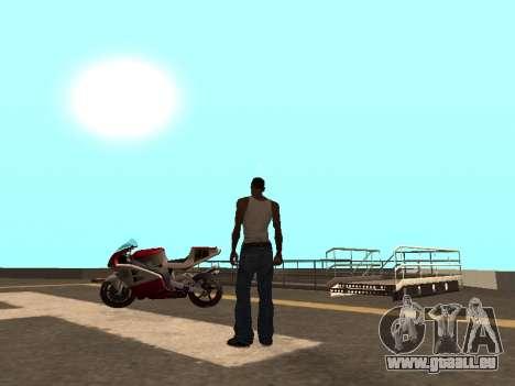 Cars spawn für GTA San Andreas zweiten Screenshot
