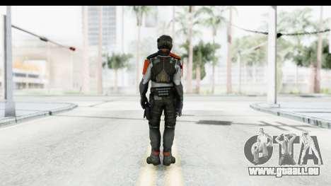 Homefront The Revolution - KPA v4 Captain pour GTA San Andreas troisième écran