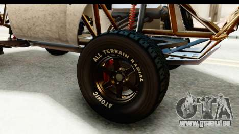 GTA 5 Trophy Truck IVF für GTA San Andreas Rückansicht