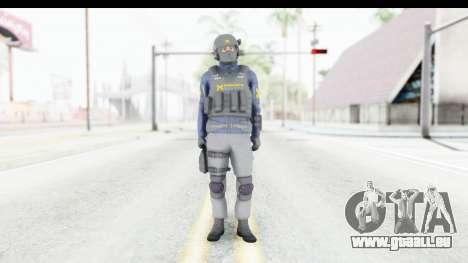 Quantum Break Monarch Operators für GTA San Andreas zweiten Screenshot