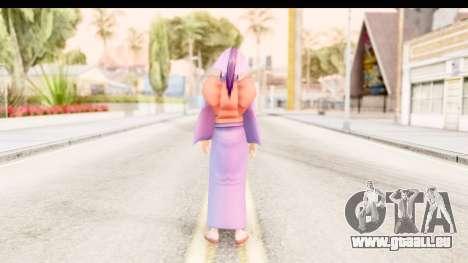 Kamiya v2 pour GTA San Andreas troisième écran