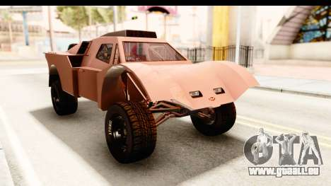 GTA 5 Desert Raid SA Lights PJ pour GTA San Andreas vue de droite