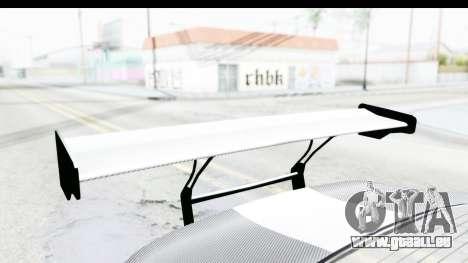 GTA 5 Bravado Banshee 900R Carbon Mip Map IVF pour GTA San Andreas vue de côté