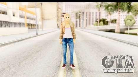 Girl from 90s pour GTA San Andreas deuxième écran