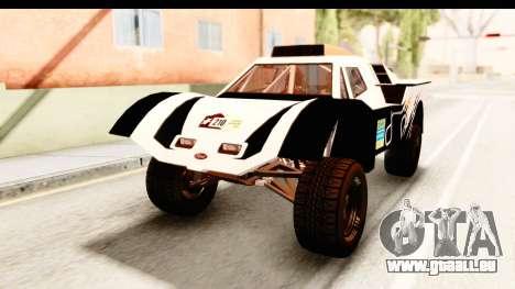 GTA 5 Desert Raid IVF PJ pour GTA San Andreas vue de côté