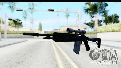 GTA 5 Vom Feuer Marksman Rifle für GTA San Andreas