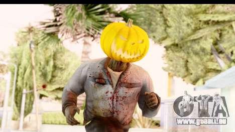 Left 4 Dead 2 - Zombie Pumpkin für GTA San Andreas