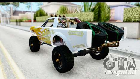 GTA 5 Trophy Truck IVF für GTA San Andreas obere Ansicht