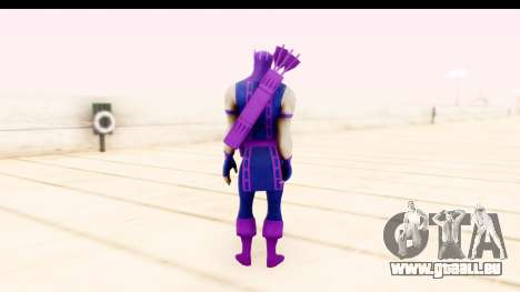 Marvel Heroes - Hawkeye pour GTA San Andreas troisième écran
