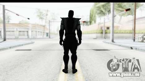 Mortal Kombat vs DC Universe - Noob Saibot pour GTA San Andreas troisième écran