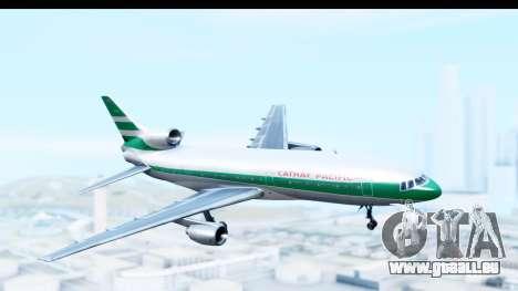 Lockheed L-1011-100 TriStar Cathay Pacific Air pour GTA San Andreas