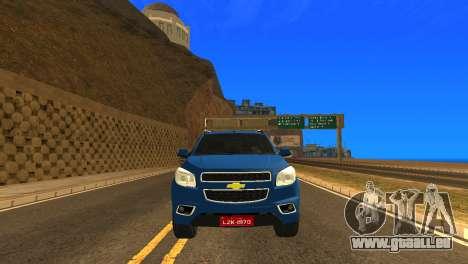 Chevrolet TrailBlazer 2015 LTZ für GTA San Andreas Innenansicht