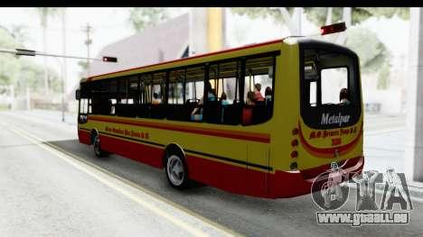 Metalpar Tronador 2 Puertas Linea 324 pour GTA San Andreas laissé vue