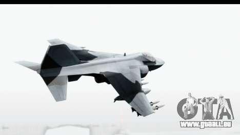 MGSV Phantom Pain Hydra v1 pour GTA San Andreas laissé vue