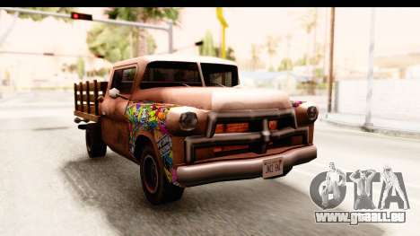 Walton Sticker Bomb pour GTA San Andreas