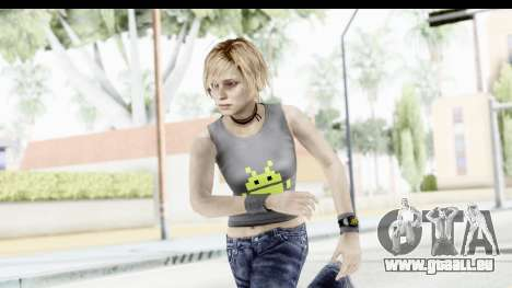 Silent Hill 3 - Heather Sporty Gray Pixel Droid für GTA San Andreas
