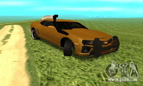Chevrolet Camaro 2010 für GTA San Andreas rechten Ansicht
