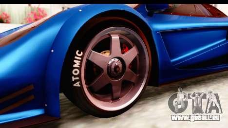 GTA 5 Progen Tyrus IVF pour GTA San Andreas vue arrière