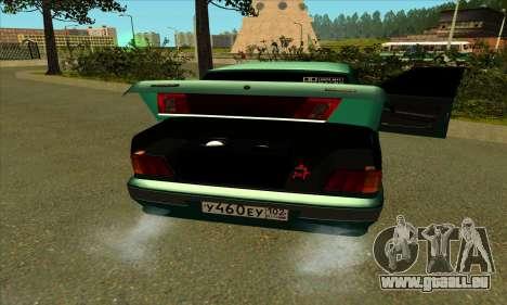 2115 pour GTA San Andreas vue de côté