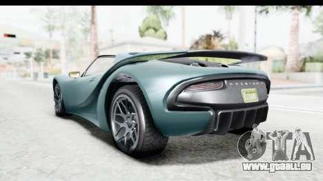 GTA 5 Pfister 811 für GTA San Andreas rechten Ansicht