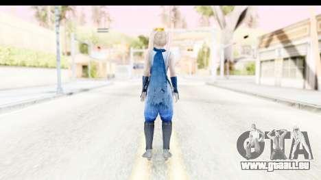 DoA 5: LR - Marie Rose Ninja für GTA San Andreas dritten Screenshot