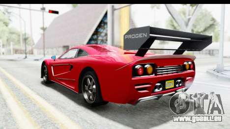 GTA 5 Progen Tyrus pour GTA San Andreas laissé vue