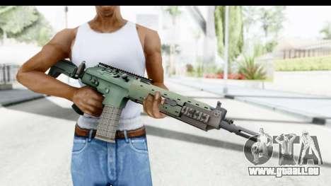 AK5C pour GTA San Andreas troisième écran