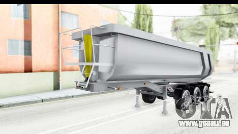 Trailer Volvo Dumper pour GTA San Andreas