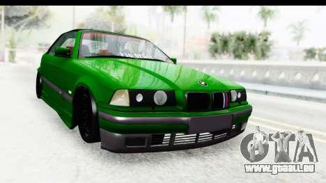 BMW M3 E36 Sloboz Edition pour GTA San Andreas