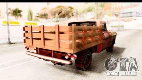 Walton Sticker Bomb pour GTA San Andreas laissé vue