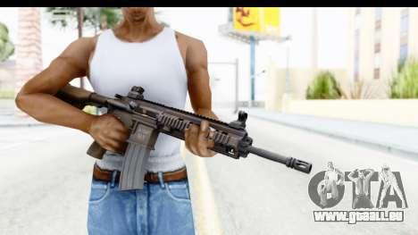 Heckler & Koch HK416 pour GTA San Andreas troisième écran