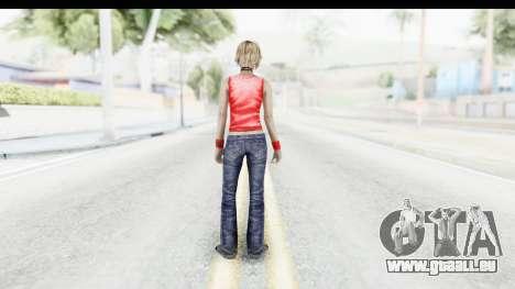 Silent Hill 3 - Heather Sporty Red Duff Beer pour GTA San Andreas troisième écran