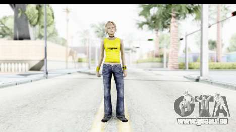 Silent Hill 3 - Heather Sporty Yellow Glasses für GTA San Andreas zweiten Screenshot
