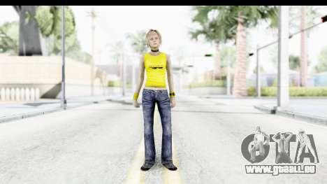 Silent Hill 3 - Heather Sporty Yellow Glasses für GTA San Andreas zweiten Screenshot