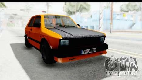 Zastava Yugo Koral 55 Race pour GTA San Andreas
