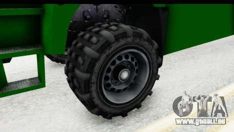 GTA 5 MTL Dune pour GTA San Andreas vue arrière