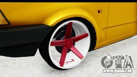 Fiat Spazio Tr Street für GTA San Andreas Rückansicht