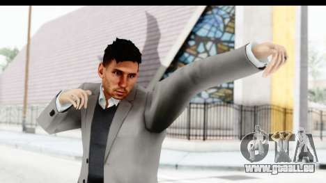 Messi Formal pour GTA San Andreas