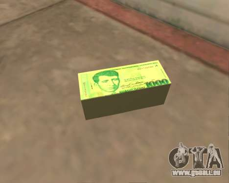 1000 Armenian Dram für GTA San Andreas her Screenshot