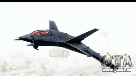 Batman Arkham Origins - Batwing für GTA San Andreas