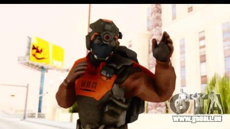 Homefront The Revolution - KPA v1 Red pour GTA San Andreas